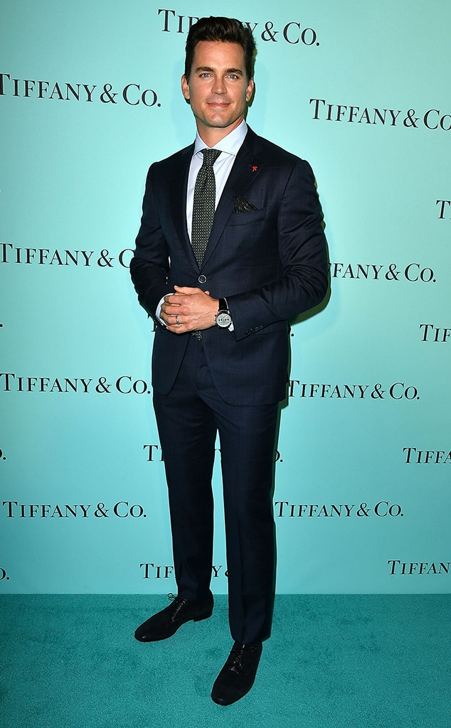 Matt Bomer, Tiffany And Co. Unveiling