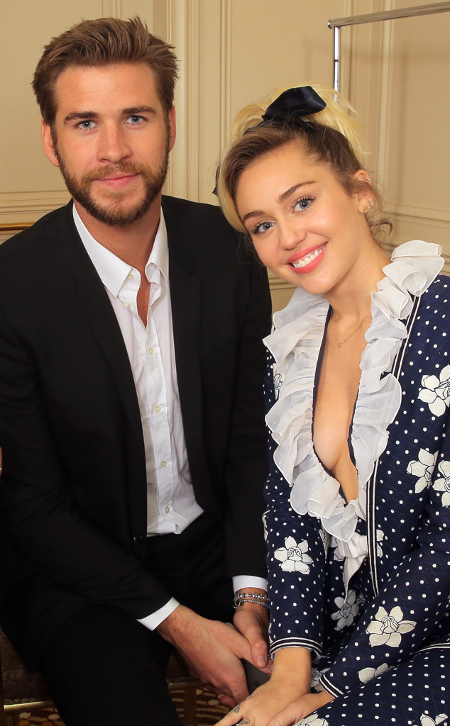 Miley Cyrus, Liam Hemsworth, Variety Power of Women