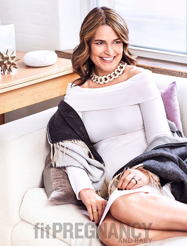 Savannah Guthrie, Fit Pregnancy