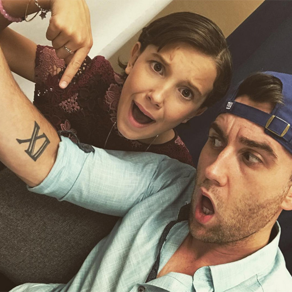 Millie Bobby Brown, Matt Lewis