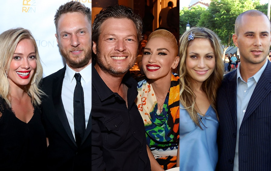 Hilary Duff, Jason Walsh, Gwen Stefani, Blake Shelton, Jennifer Lopez, Chris Judd