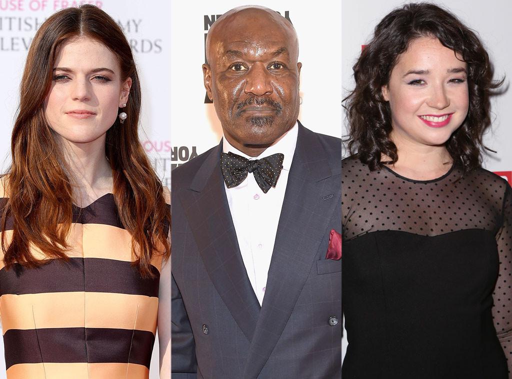 Rose Leslie, Delroy Lindo, Sarah Steele, Good Wife Spin Off