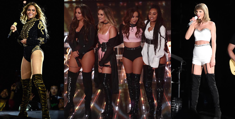 Beyonce, Taylor Swift, Little Mix, X Factor