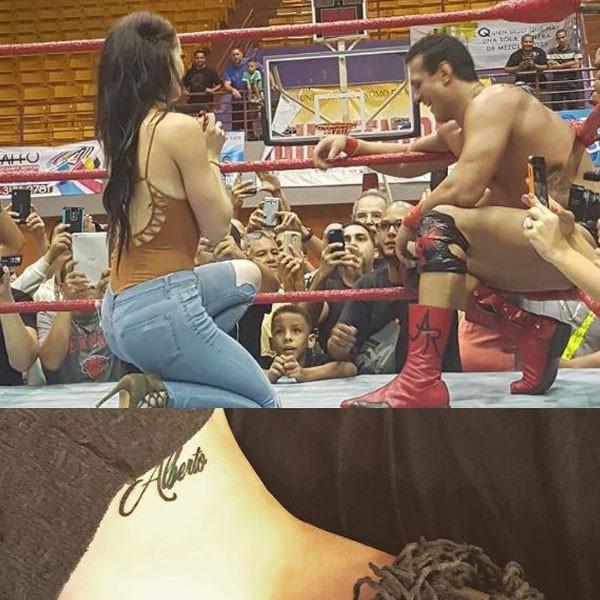 Paige, Alberto Del Rio, WWE