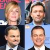 Matt Damon, Ben Affleck, Leonardo DiCaprio, Julia Roberts