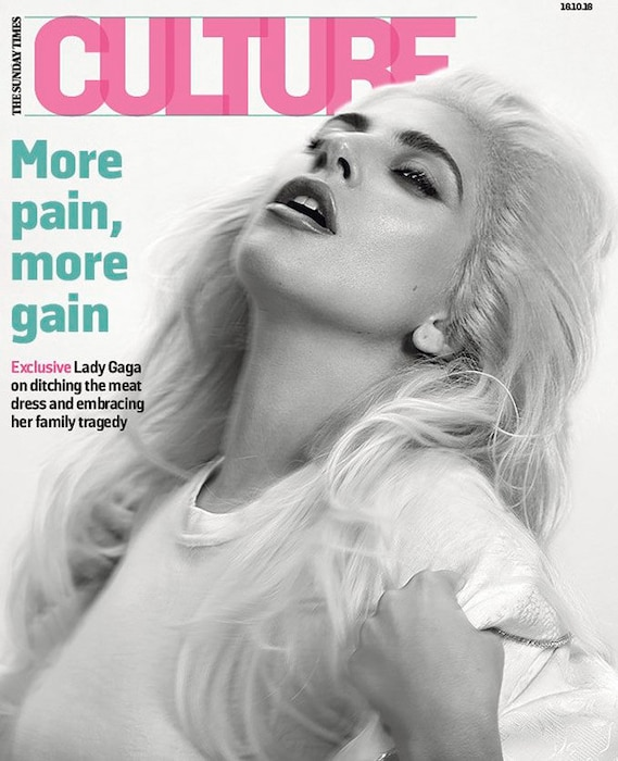 Lady Gaga, The Sunday Times, Culture