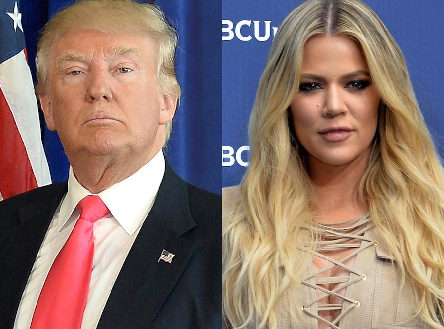 Donald Trump, Khloe Kardashian