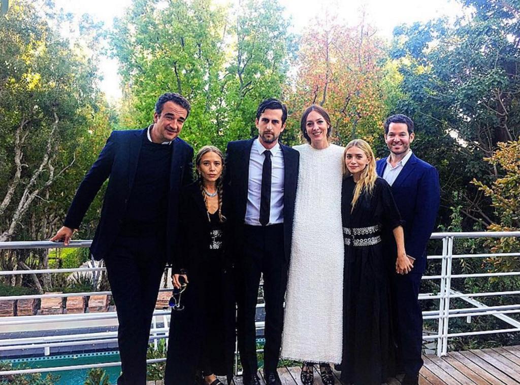 Ashley Olsen, Hayden Slater, Mary-Kate Olsen, Olivier Sarkozy