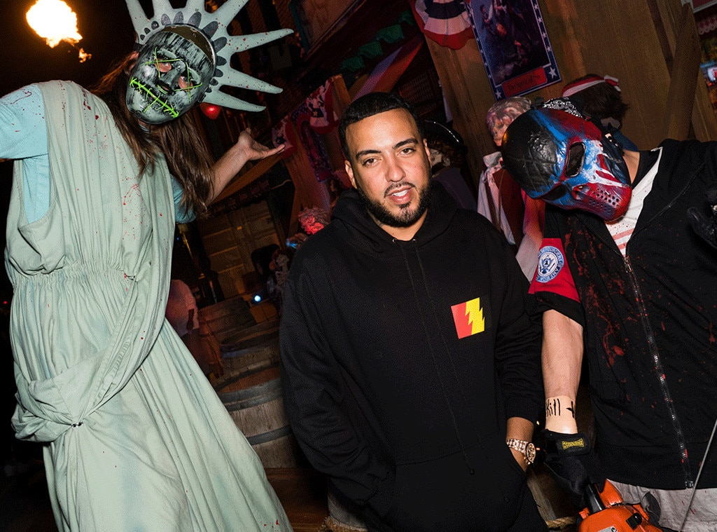 French Montana, Halloween 2016