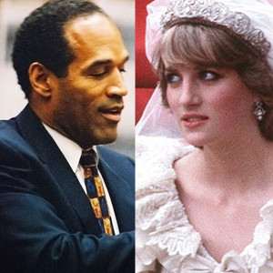 Princess Diana, O.J. Simpson, 90's Scandals