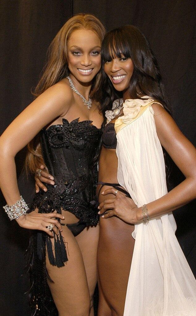 Tyra Banks, Naomi Campbell