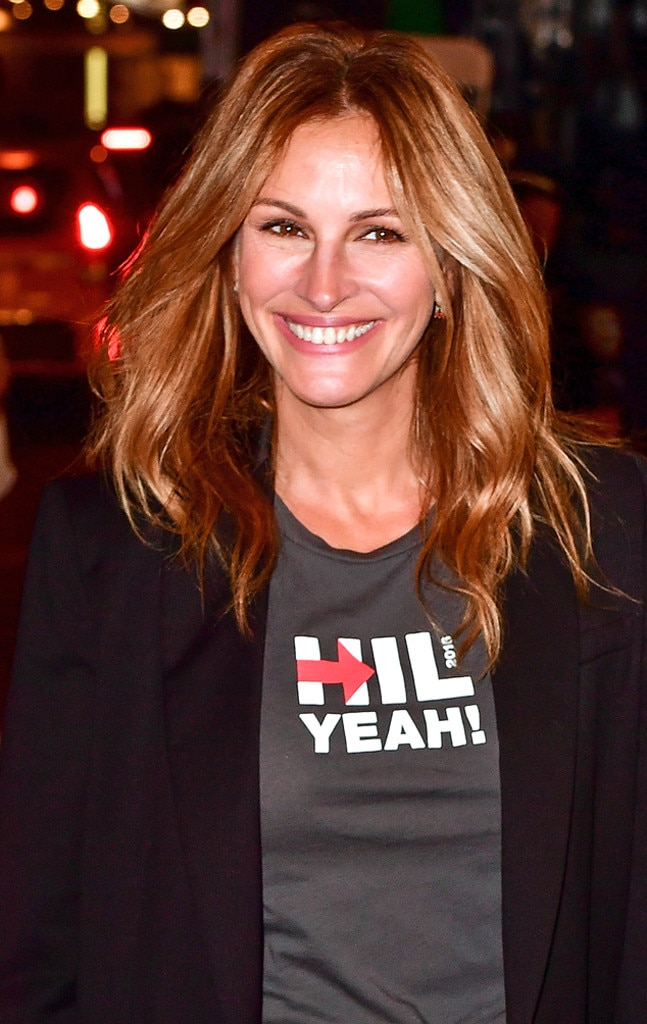Fashion week 2017 nyc - Julia Roberts From Celebs Endorse Hillary Clinton E News