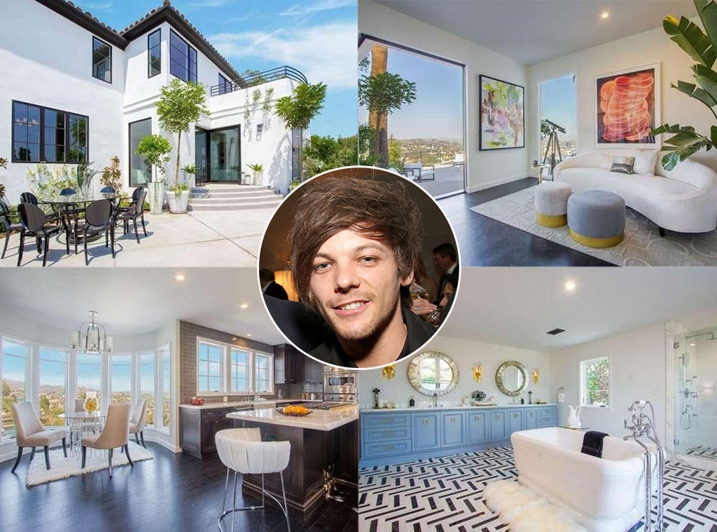 Louis tomlinson home picture number.