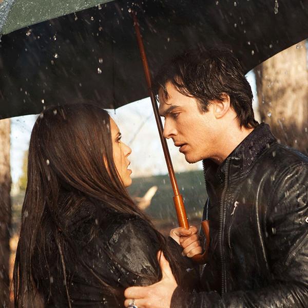 The Vampire Diaries, Nina Dobrev, Ian Somerhalder, Delena