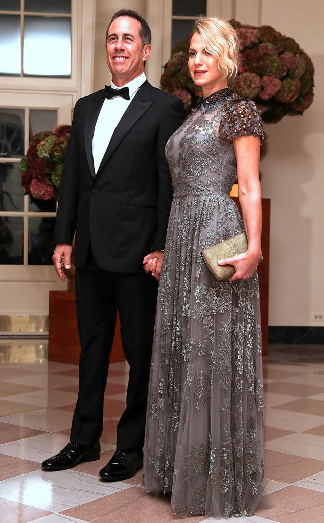 Jerry Seinfeld, Jessica Seinfeld, State Dinner