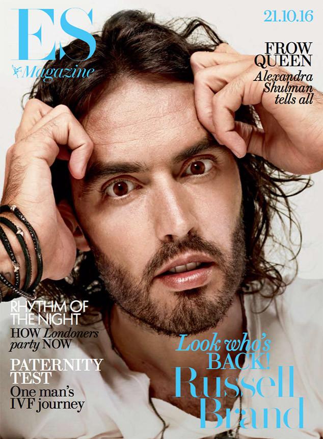 Russell Brand, ES Magazine