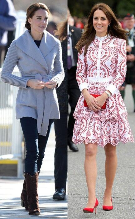 Kate Middleton, Canada
