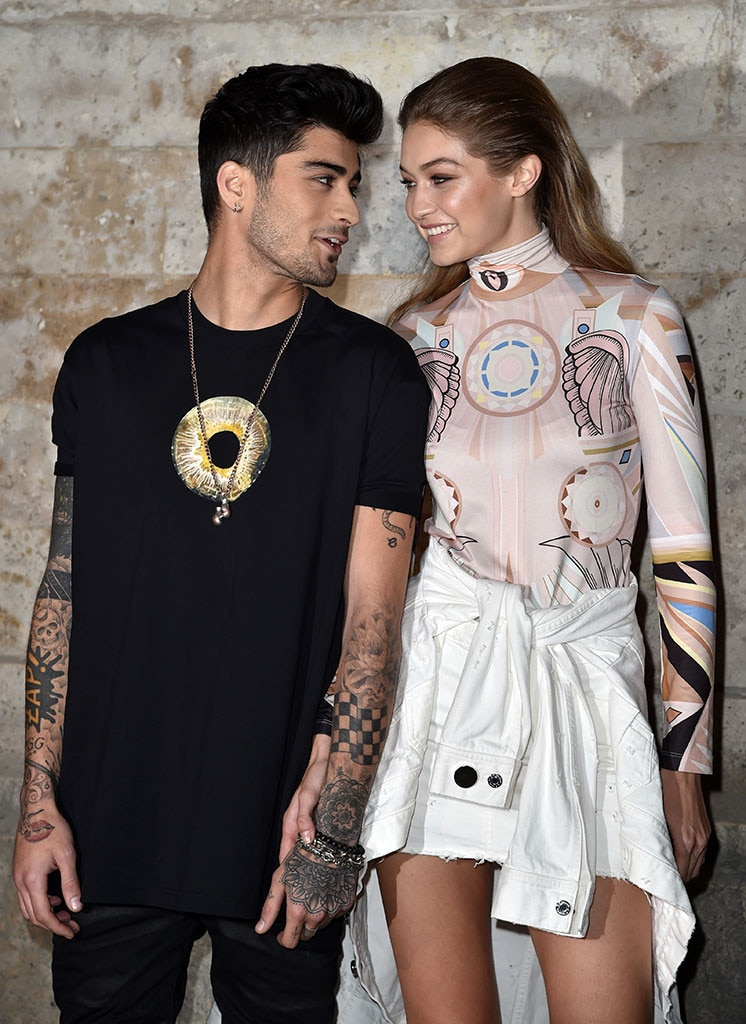 "Gigi Hadid Played It Cool With Zayn Malik ""for Like 10 Minutes"" Before She Made A Move"