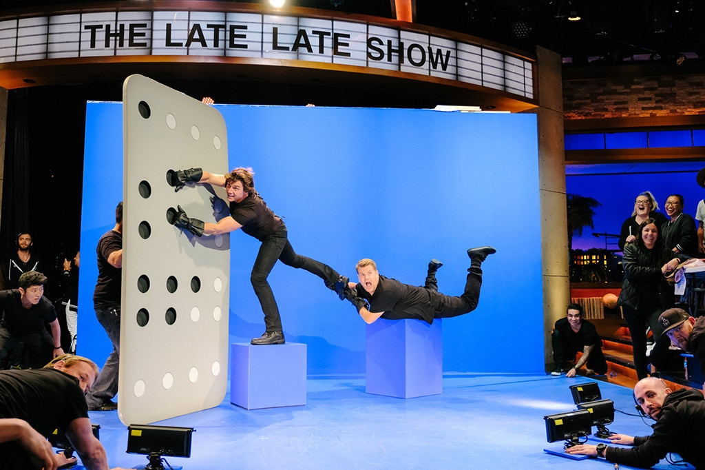 You Gotta Watch Tom Cruise Recreate His Most Memorable Scenes With James Corden E News