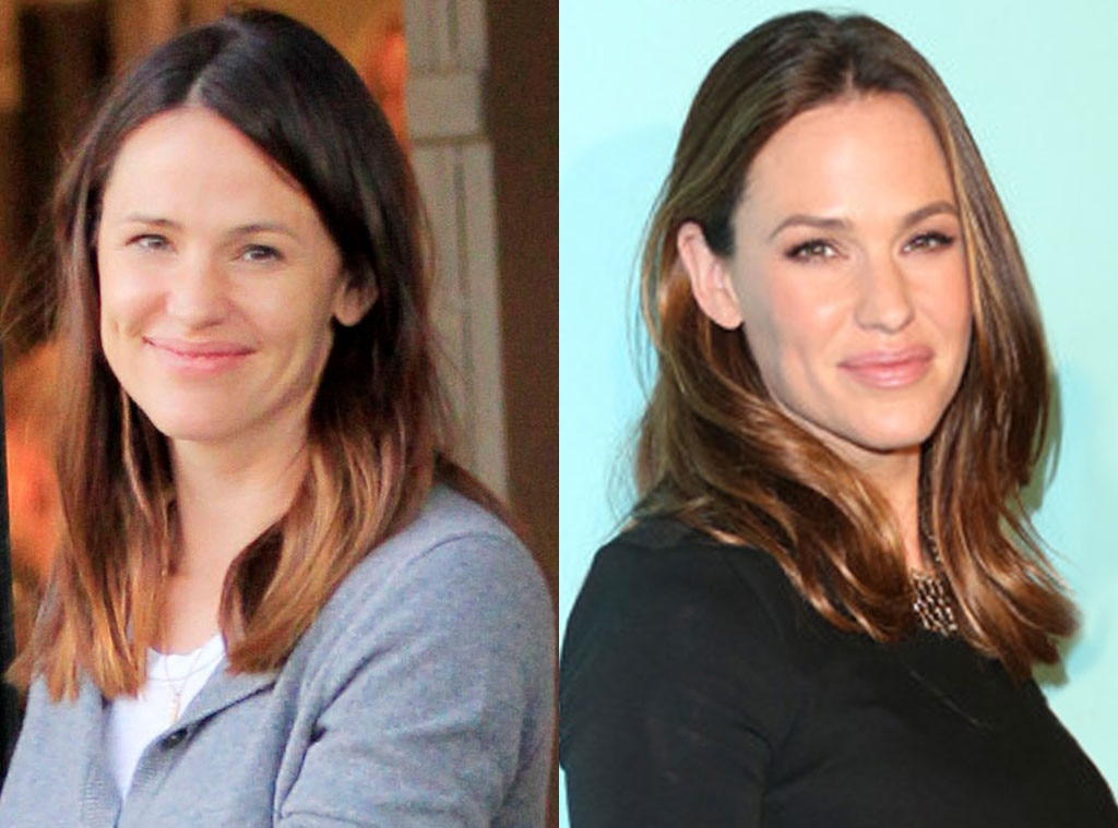 Jennifer Garner, Stars without makeup