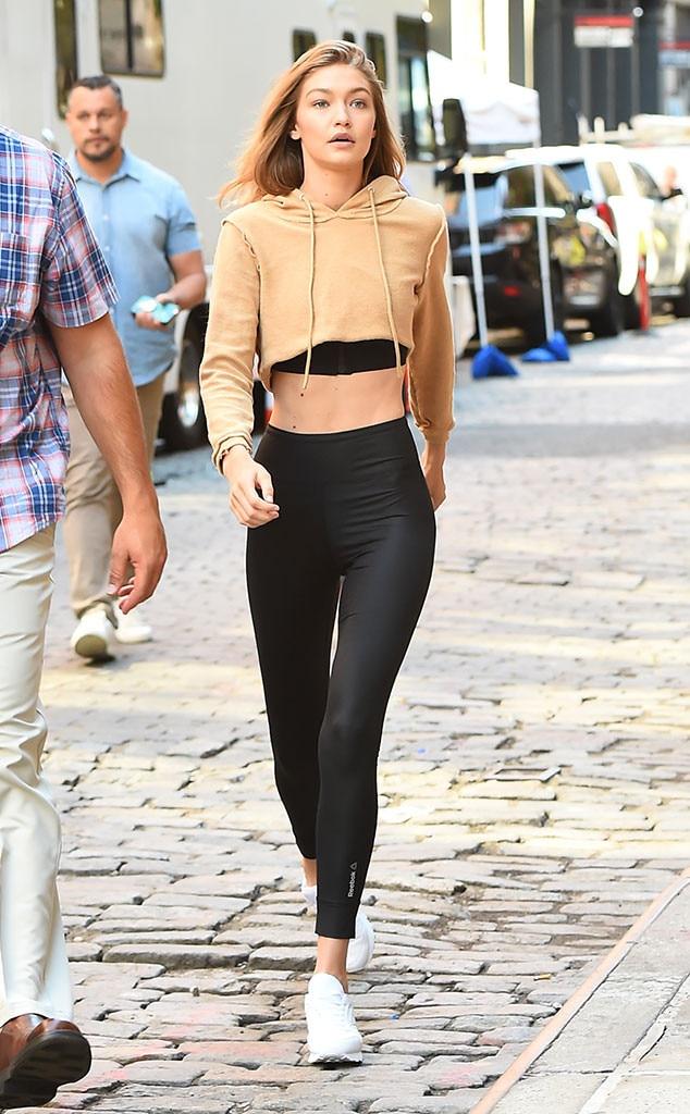 Gigi Hadid, Leggings