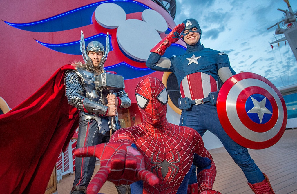 Disney Cruise Line, Marvel Day at Sea