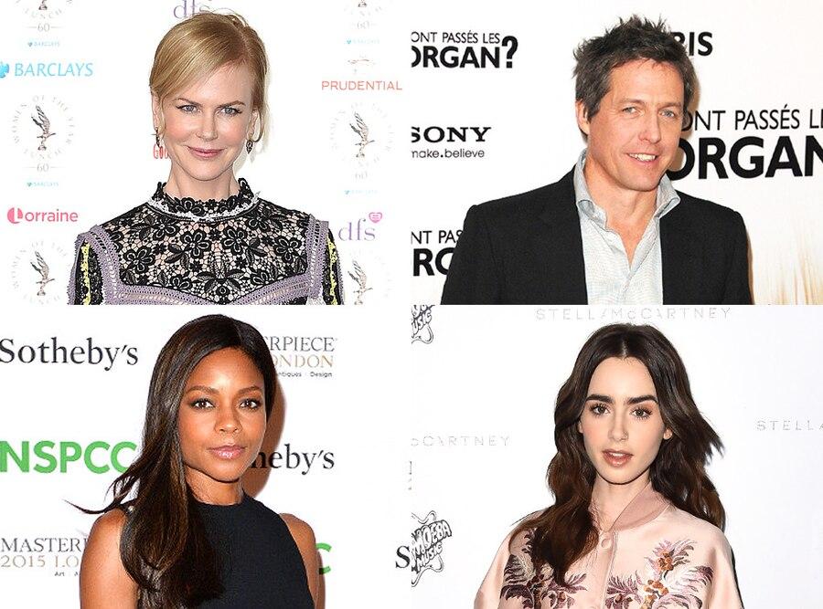 Hugh Grant, Nicole Kidman, Lily Collins, Naomie Harris