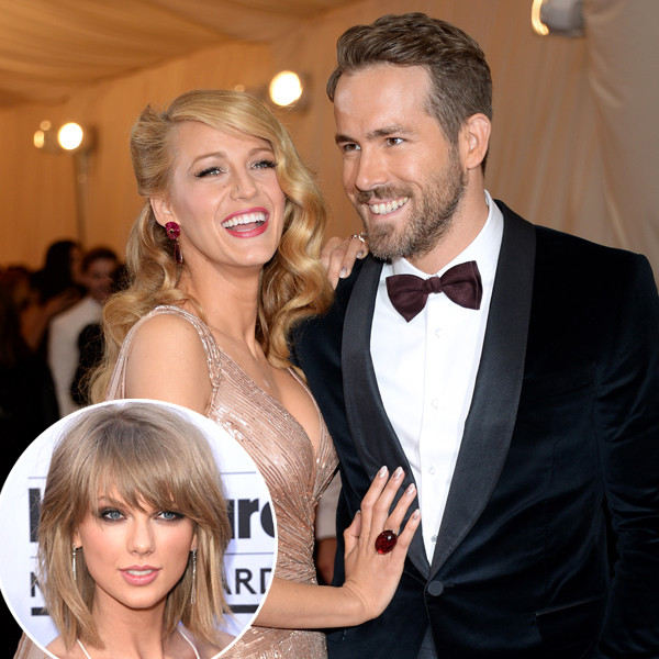 Blake Lively, Ryan Reynolds, Taylor Swift