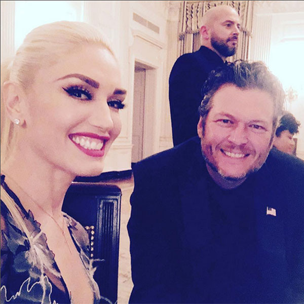 Gwen Stefani, Blake Shelton, Celeb Selfies