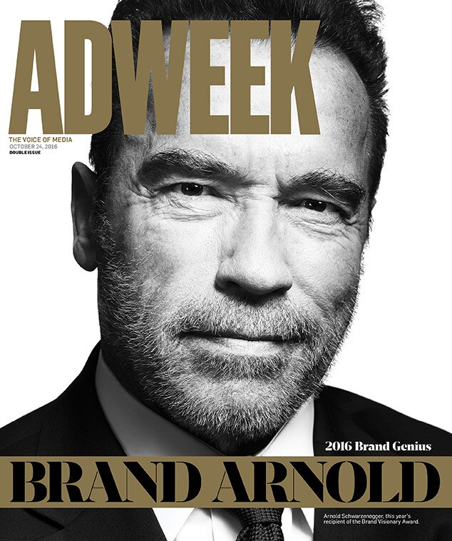 Arnold Schwarzenegger, Adweek