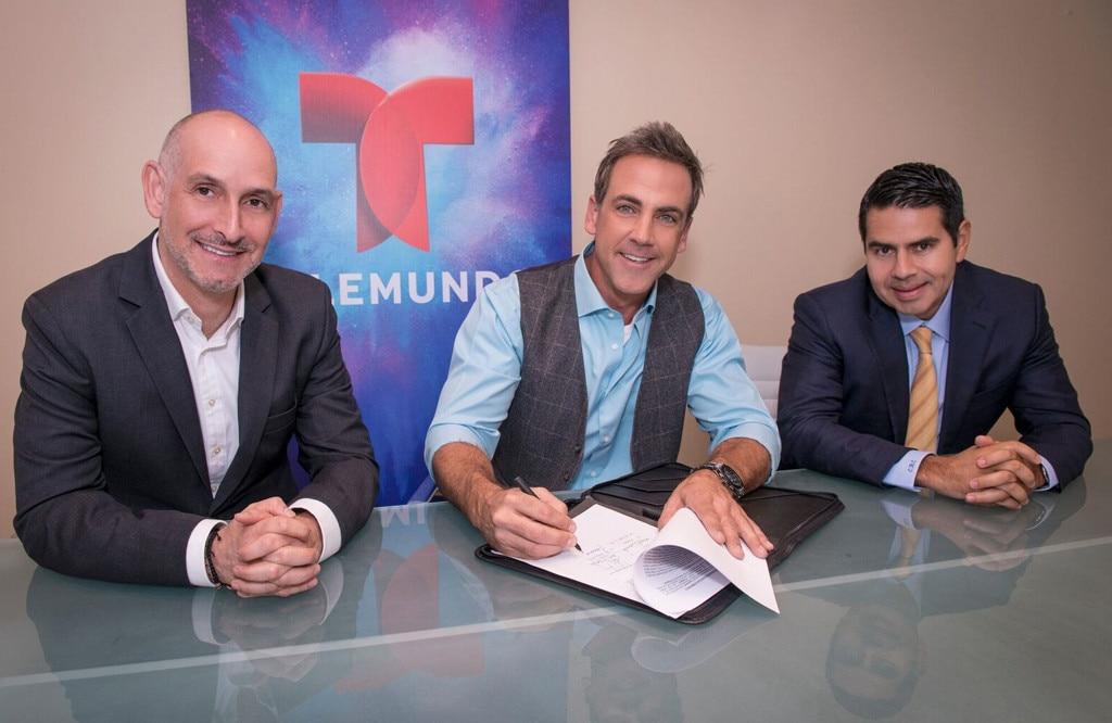 Luis Silberwasser, Carlos Ponce, Cesar Conde