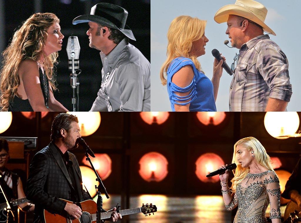 Country Music Duets, Tim McGraw, Faith Hill, Blake Shelton Gwen Stefani, Garth Brooks, Trisha Yearwood