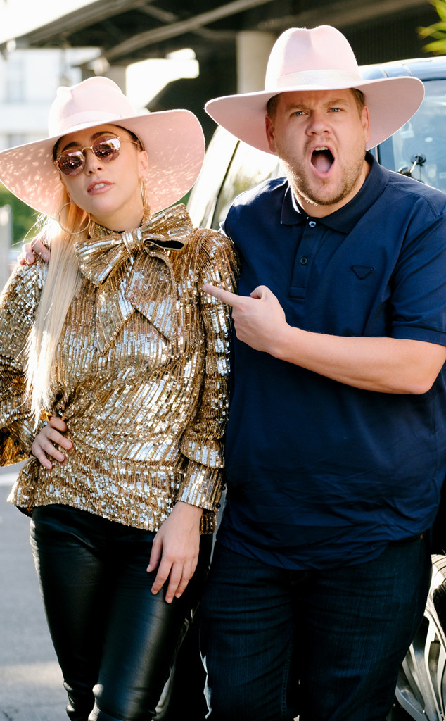 Lady Gaga, James Corden, The Late Late Show