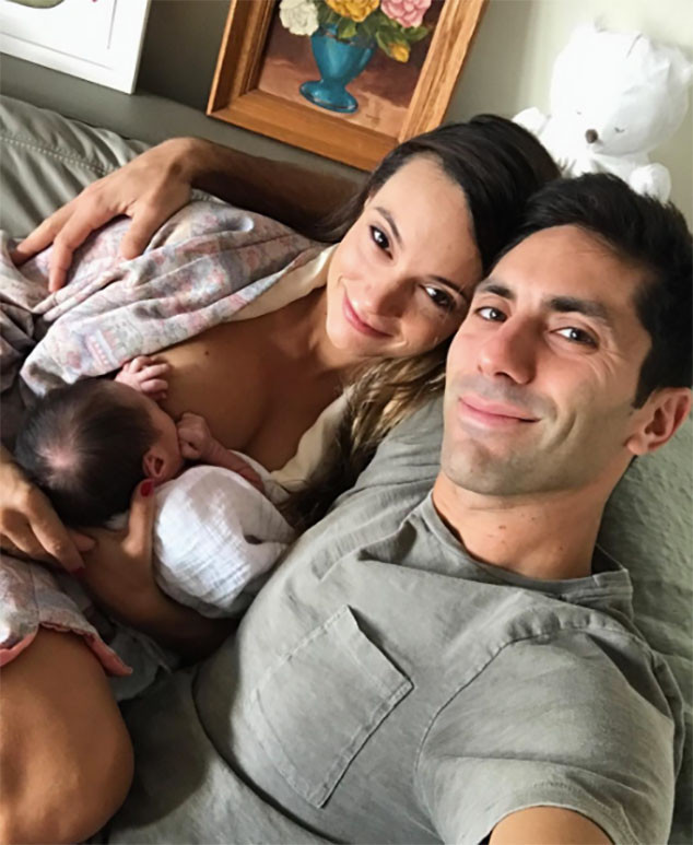 Nev Schulman, Laura Perlongo, Breastfeeding