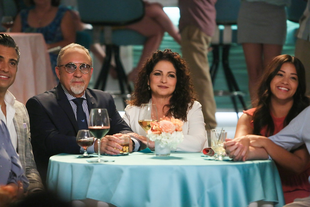 Jane The Virgin, Jaime Camil, Emilio Estefan, Gloria Estefan, Gina Rodriguez