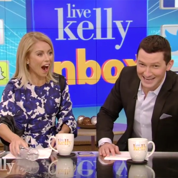 Live with Kelly, Richard Curtis