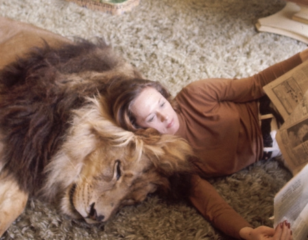 Remember That Time Melanie Griffith Owned A Pet Lion E