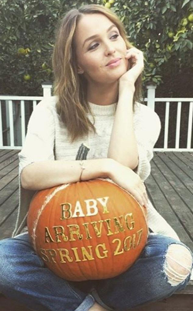Camilla Luddington Baby Announcement, Instagram