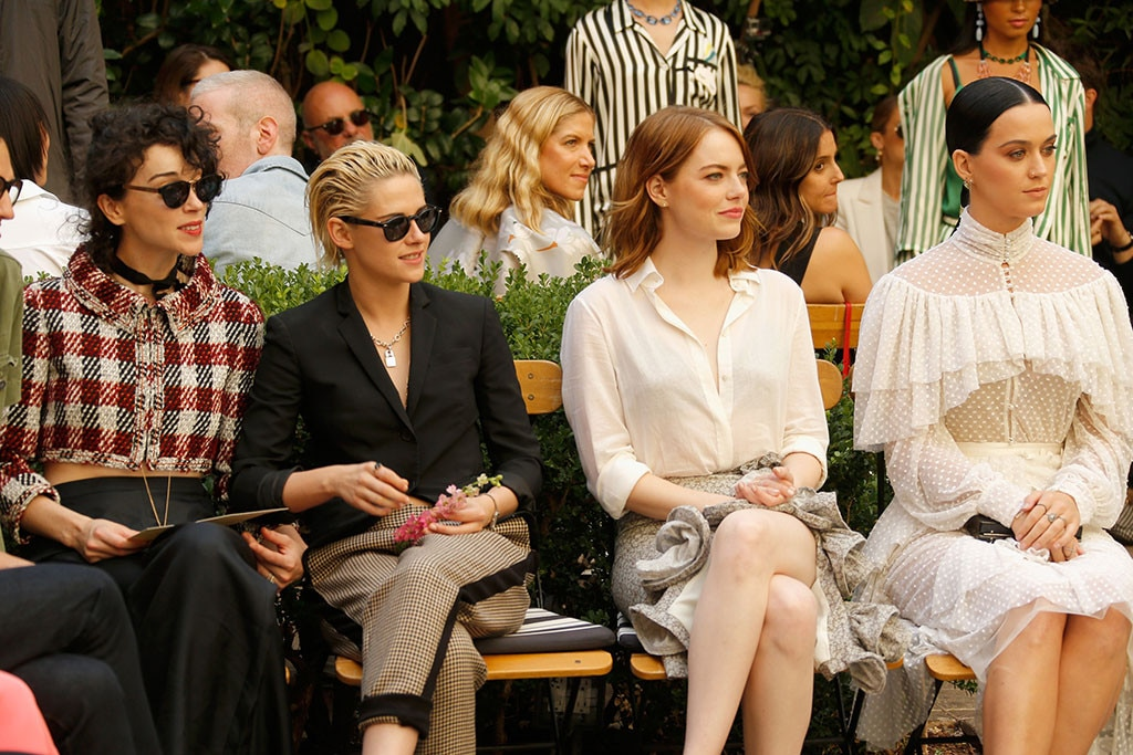 St. Vincent, Kristen Stewart, Emma Stone, Katy Perry