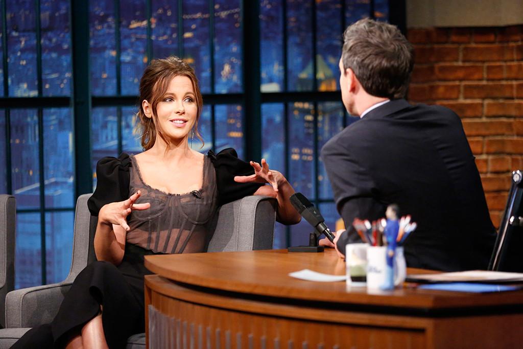 Kate Beckinsale, Seth Meyers