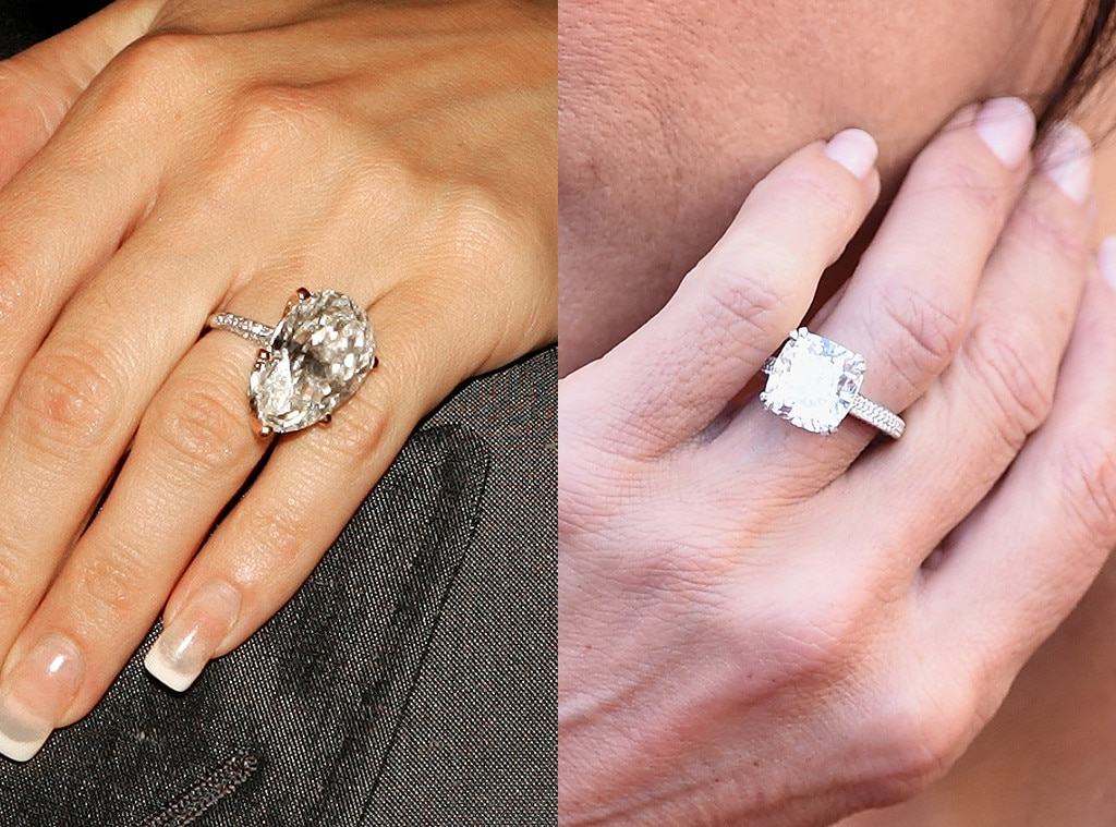 5 celebrities who have upgraded their engagement rings e news. Black Bedroom Furniture Sets. Home Design Ideas