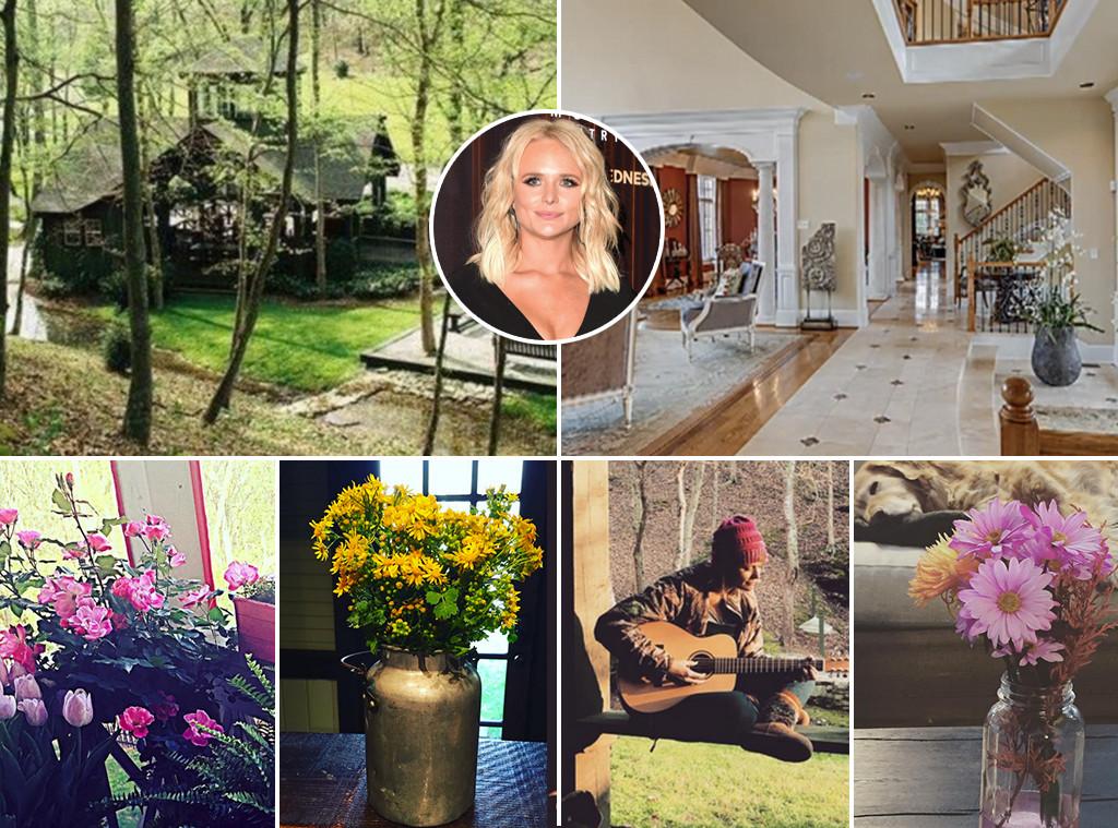 blake shelton miranda lambert jessie james decker and more country stars 39 amazing homes e news. Black Bedroom Furniture Sets. Home Design Ideas