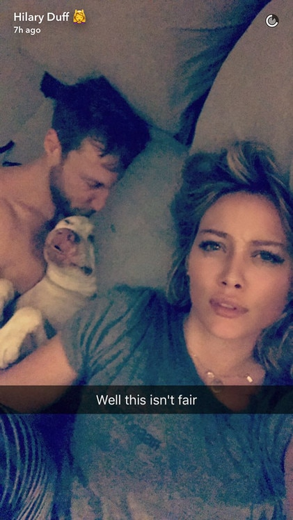 Hilary Duff, Jason Walsh