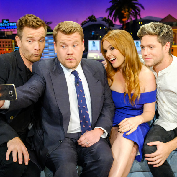 James Corden, Niall Horan, Isla Fisher, Ewan McGregor, The Late Late Show