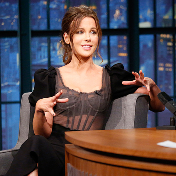 Kate Beckinsale, Seth Meyers