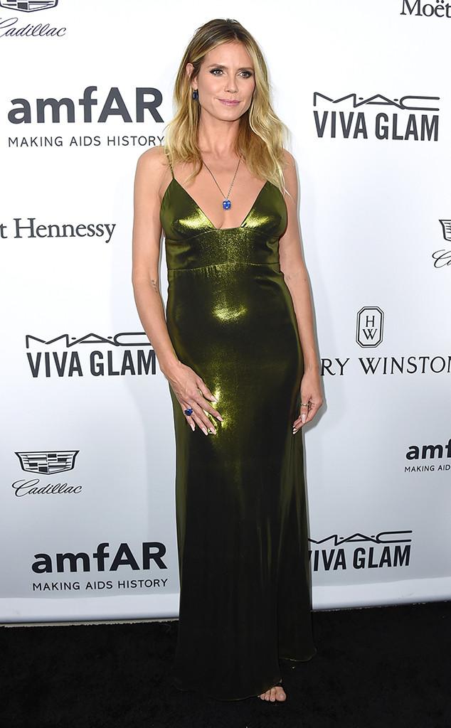 Heidi Klum, Amfar Inspiration Gala, Los Angeles, 2016