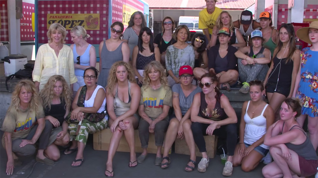 Formation, Wanda Sykes, Amy Schumer, Joan Cusack, Goldie Hawn