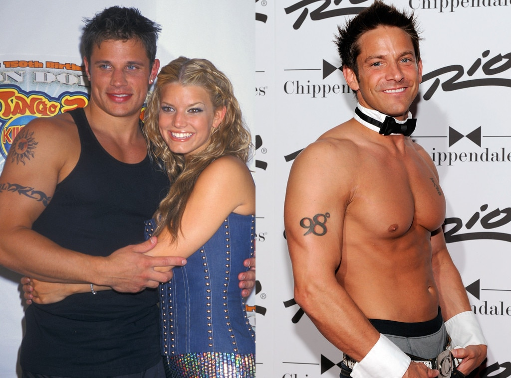 Nick Lachey, Jeff Timmons, Tattoo