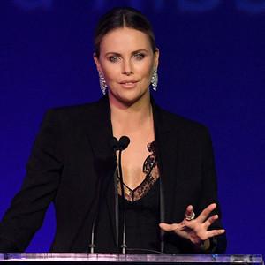 Charlize Theron, Amfar Inspiration Gala, Los Angeles, 2016
