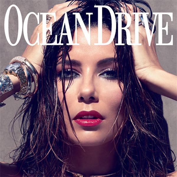 Eva Longoria, Ocean Drive, Cover